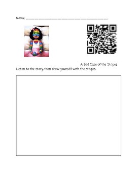 Classroom Favorites QR Codes for Listening