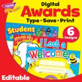 Classroom Favorites Student Awards | Multiple Designs | Pr