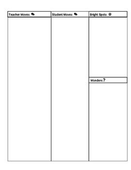 Classroom Feedback Form