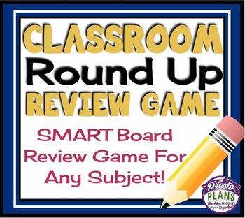 SMART BOARD REVIEW GAME FOR ANY SUBJECT