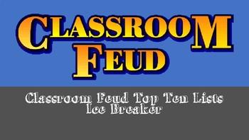 Classroom Feud - History/Sports/Pop Culture
