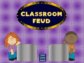Classroom Feud PowerPoint Game Template