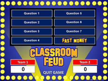 Classroom feud powerpoint template plays like family feud tpt classroom feud powerpoint template plays like family feud maxwellsz