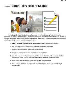 Classroom Film Project Handbook Role B