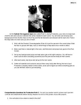 Classroom Film Project Handbook Role C