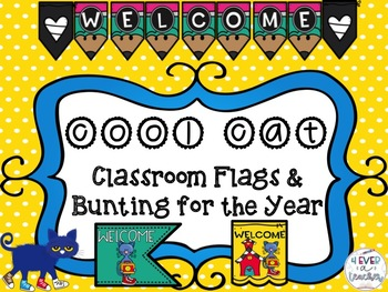 Classroom Flags and Bunting for the Year Bundle