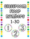 Classroom Floor Numbers