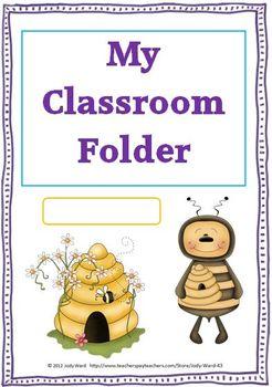 Classroom Folder Header