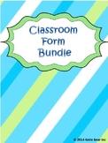 Classroom Form Bundle