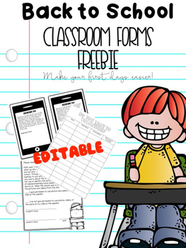 Classroom Forms