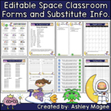 Editable Classroom Forms and Substitute Information Space