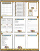 Editable Classroom Forms and Substitute Information - Western Cowboy Theme