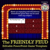 The Friendly Feud Classroom PowerPoint Game Template (Based on Family Feud)