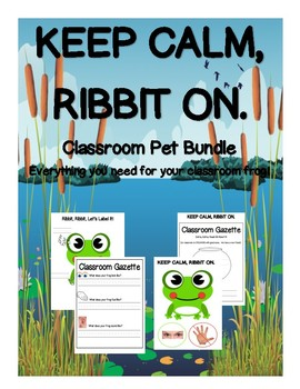 Classroom Pet Bundle (Frog)
