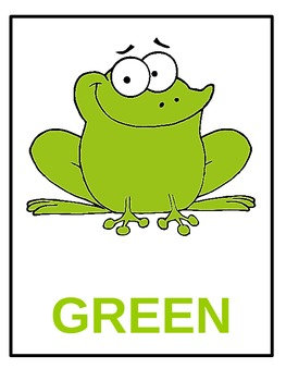 Classroom Frog theme: colors