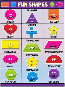 Classroom Fun Poster: Fun Shapes