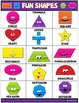 Classroom Fun Poster: Fun Shapes