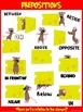 Classroom Fun Poster: Preposition Mice