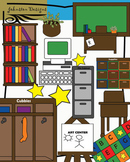 Classroom Furniture Clipart