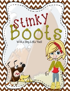 Classroom Game Boards #3 - Stinky Boots