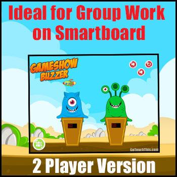 Game Show Buzzer - Electronic Buzzer to Recreate Game Shows on SmartBoard & PC