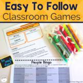 Brain Breaks and Community Building Activities   Social Skills Interactive Games