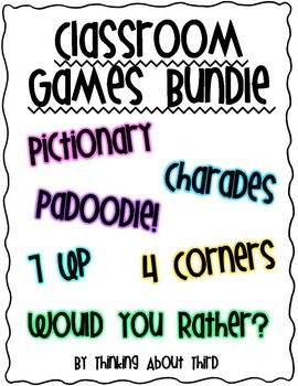 Classroom Games Bundle