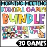 Classroom Games for Fun Fridays BUNDLE