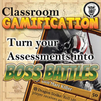 Classroom Gamification - Tests to Boss Battles!