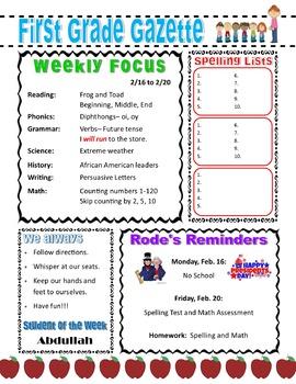 Classroom Gazette