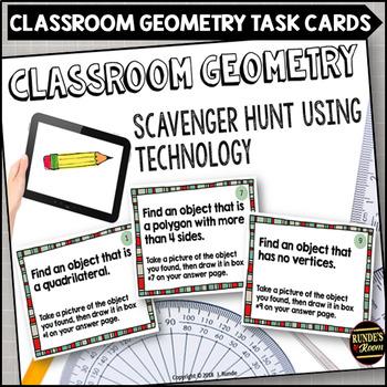 Classroom Geometry Scavenger Hunt