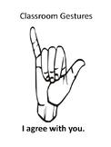 Classroom Gestures
