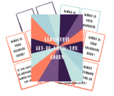 Classroom Get-to-Know-You Cards