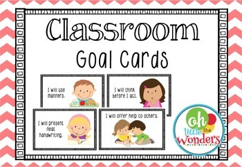 Classroom Goal Cards