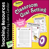 Classroom Goal Setting Teacher's Guide with Printables