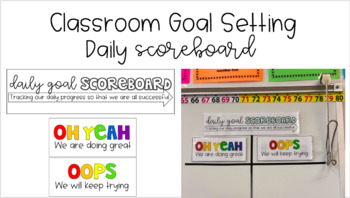 Classroom Goal Tracker