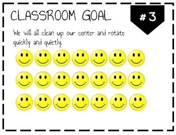 Classroom Goals