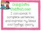 Classroom Goals - Academic Common Core -  1st grade