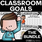 Classroom Goals BUNDLE (Editable)