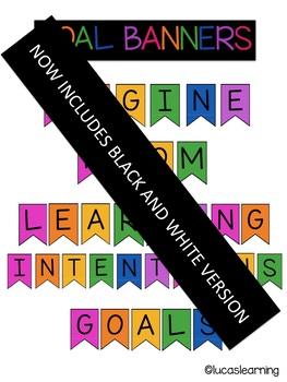 Classroom Goals Banners