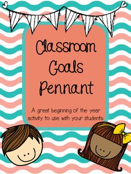 Classroom Goals Pennant