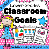 Classroom Goals Bundle for Lower Grades - Reading, Writing and Math