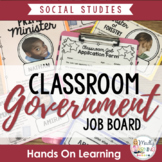 Classroom Job Board to Teach Canadian Government