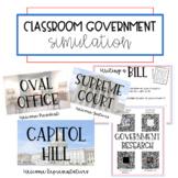 Classroom Government Simulation