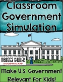 Classroom Government Simulation- Making U.S. Government Relevant for Kids