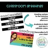 Classroom Greetings