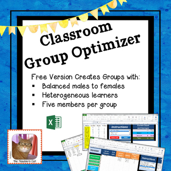 Classroom Group Optimizer - Make Balanced Groups of Five with Ease