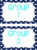 Classroom Group Table Signs