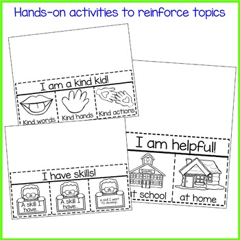 Pre-K and Kindergarten Classroom Guidance Lesson Bundle for School Counseling