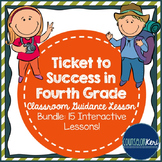 School Counseling - Classroom Guidance Lesson Bundle - Fourth Grade - Travel